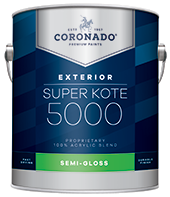 New Palace Paint & Home Center Super Kote 5000 Exterior is designed to cover fully and dry quickly while leaving lasting protection against weathering. Formerly known as Supreme House Paint, Super Kote 5000 Exterior delivers outstanding commercial service.boom